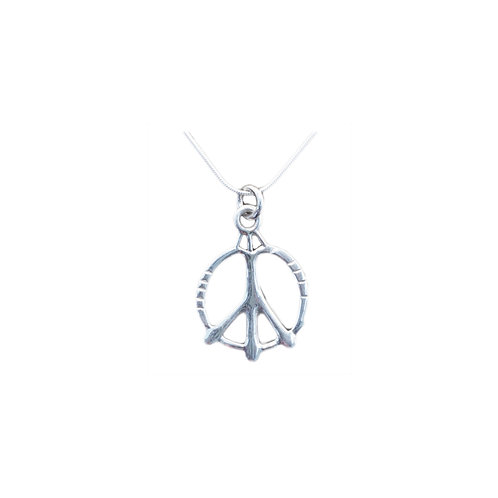 NI316 Sterling Silver Peace Sign
