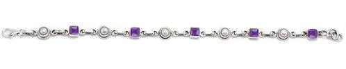 B47 Dainty Geometric Bracelet