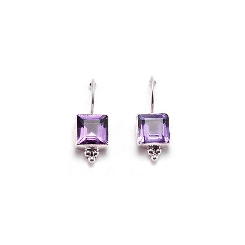 E5 Square Drop Earrings