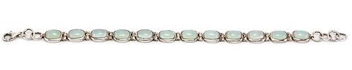 B218 Rectangular Cabochon  Bracelet