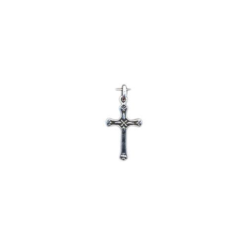 P116 Small Sterling Cross Pendant