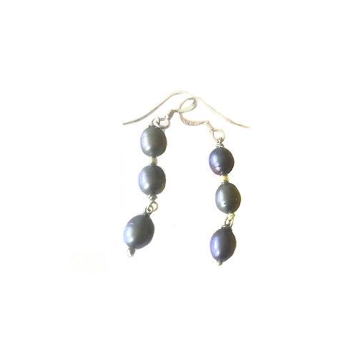 E207 Freshwater Pearl Earrings