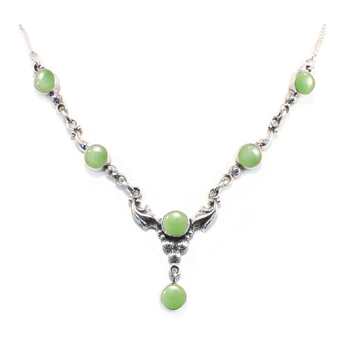 NI81 Aventurine Drop Necklace