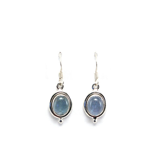 E6 Oval Drop Earrings