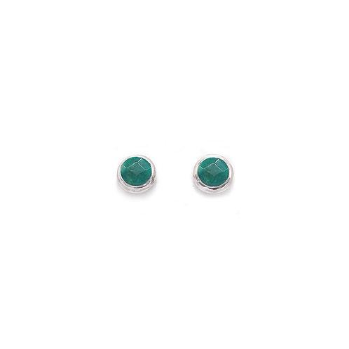 PE57 Faceted Post Earrings