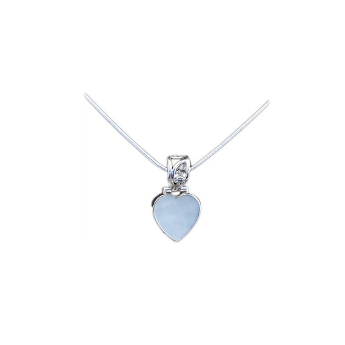 NI277 Sterling Mother of Pearl Heart