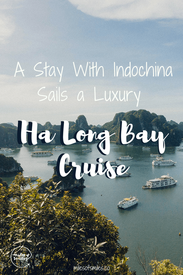 A Stay With Indochina Sails a Luxury Ha Long Bay Cruise