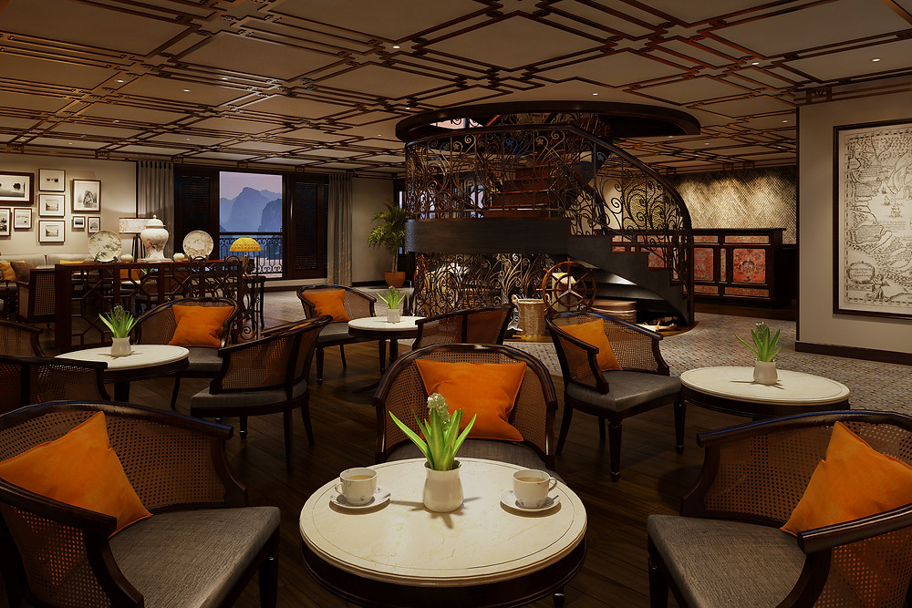 Indochine Cruise Lobby