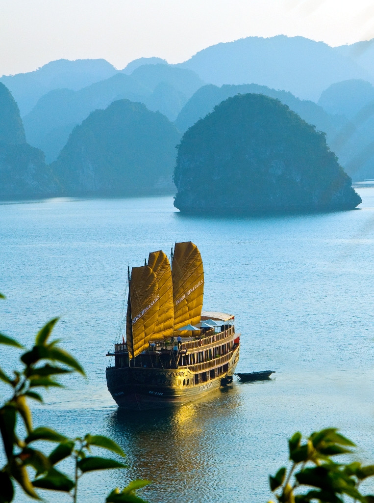 Indochina Sails on Halong bay