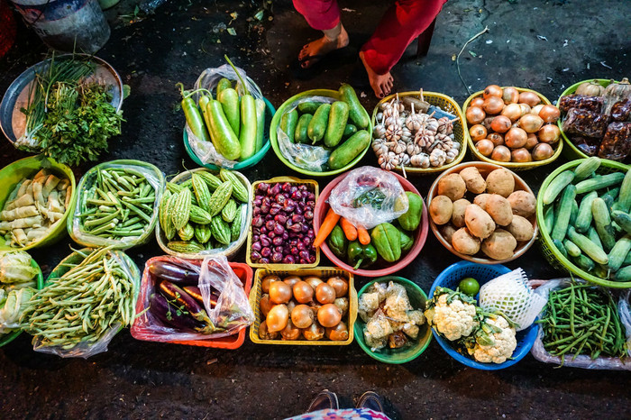 Vegetarian eating in Vietnam – same, same but different!