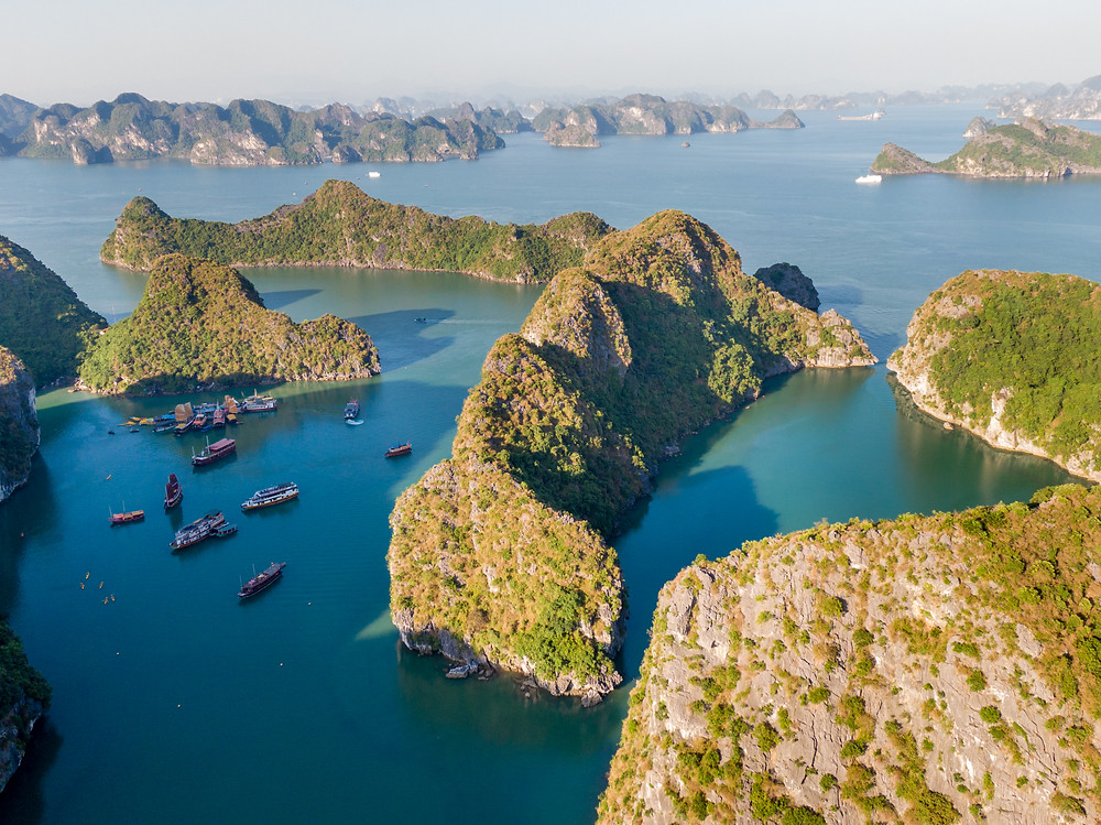 Bat Cave in Lan Ha Bay by Indochina Sails