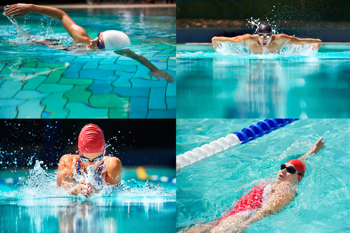 The Different Swimming Strokes / Styles