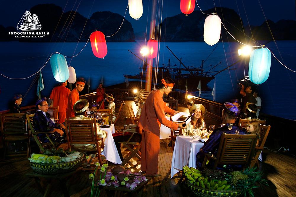 Full Moon Festival in luxury cruise on Halong bay