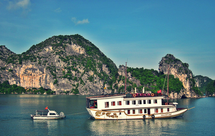When you cruise Halong Bay, do it in style. This is the way, the only way!