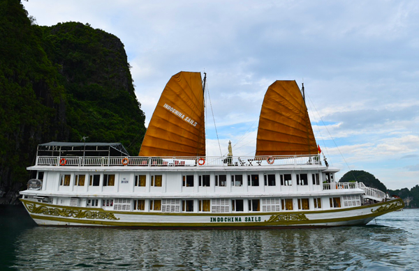 Halong Bay, Halong, Cruises, Indochina Sails, Vietnam