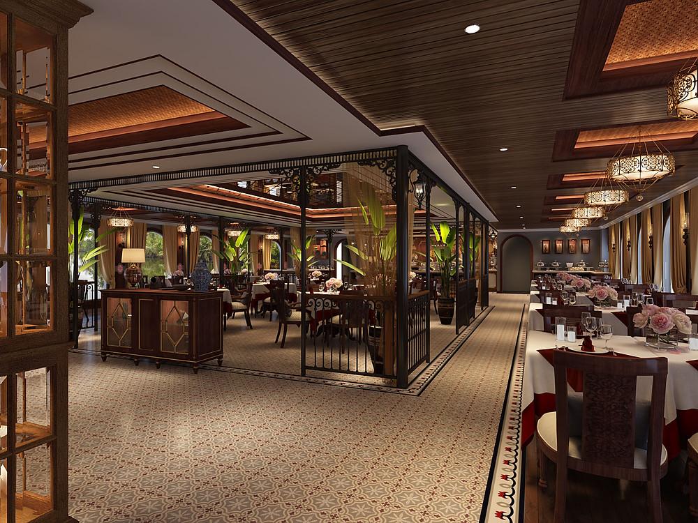 Indochine Cruise Tonkin Restaurant