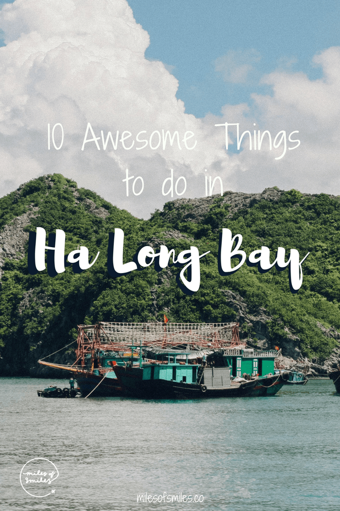 Awesome Things to do in Ha Long Bay