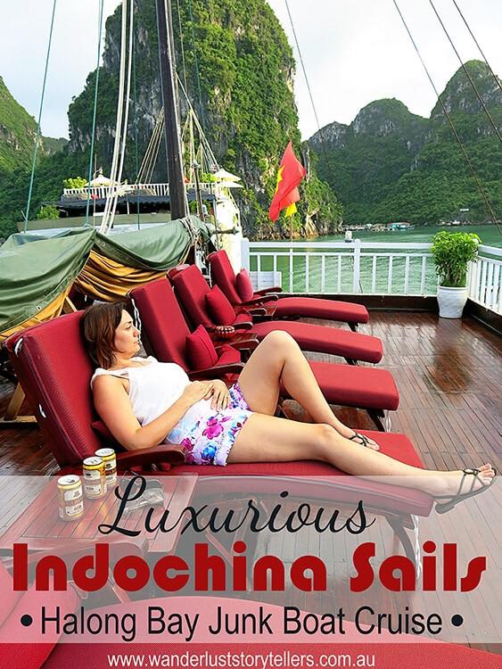 Luxurious Halong Bay Indochina Sails Junk Cruise (Part 1)