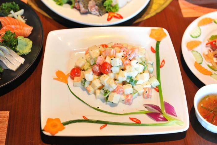 Russian Fruit & Vegetable Salad