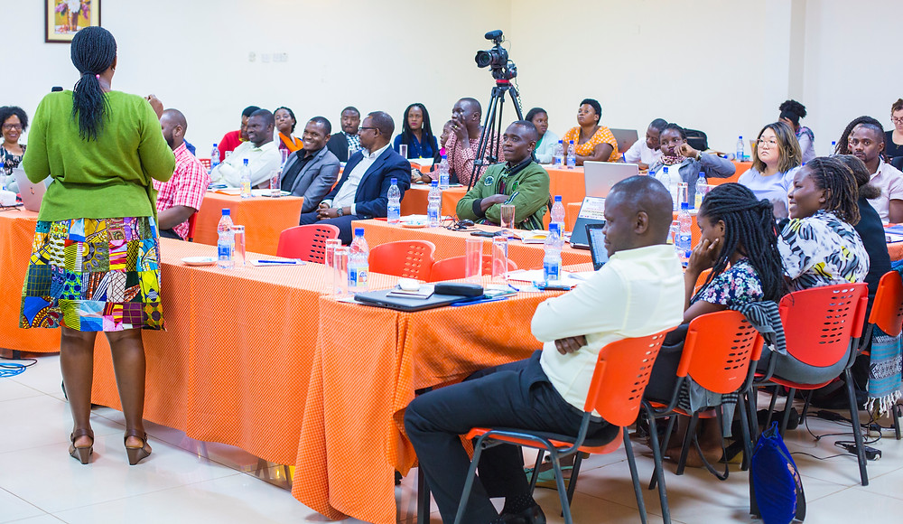 Residential Care Facilities managers and owners From the Wakiso, Mpigi, Makindye and Tororo areas during the workshop