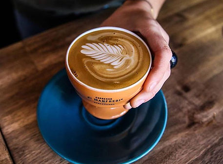 Launching a new coffee at _greatkeppelis