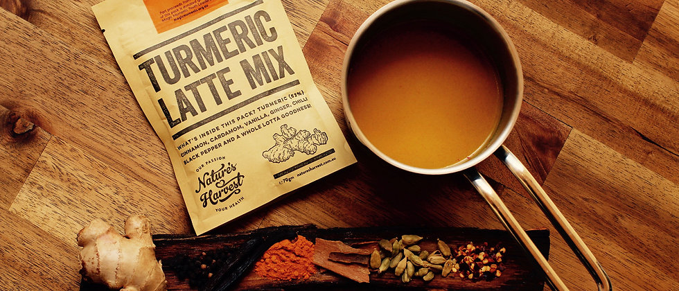 Tumeric Latte Mix Packet - 70g
