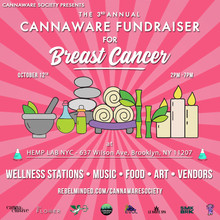 The 3rd Annual Cannaware Society fundraiser for Breast Cancer
