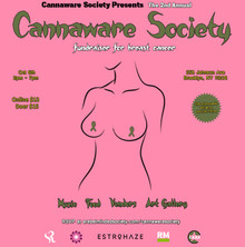 The 2nd Annual Cannaware Society fundraiser for Breast Cancer