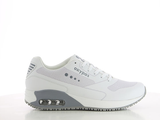 Oxypas Justin - MENS powerful and athletic leather work shoe