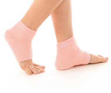 GelSmart Moisturising Microfiber Heel Sleeve Softens & Conditions Dry Skin