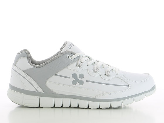Oxypas Henny - MENS leather sports shoe non slip outsole