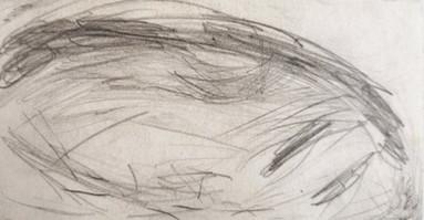 Pencil on paper 16x08 cm