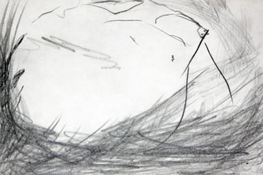 Pencil on paper 18x12 cm