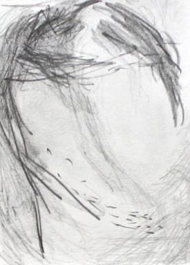 Pencil on paper 12x16 cm