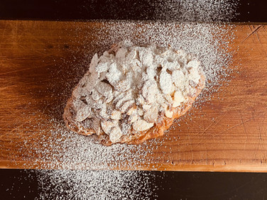 Our Almond Croissant is Here...