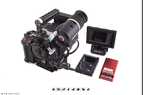 Red Epic Dragon 6k Kit A (w/EVF) - daily rental