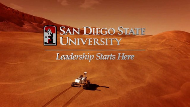San Diego State University - Mars Landing -TV :30