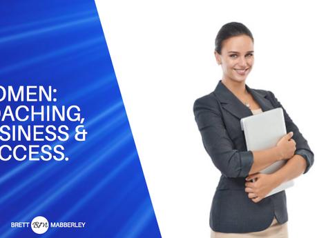 Women: Coaching, Business & Success.