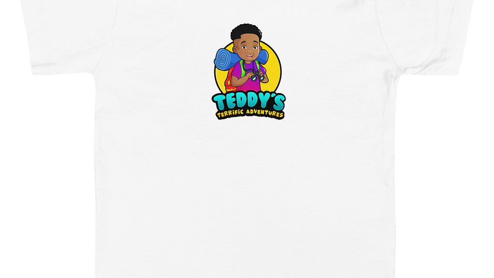 Teddy Terrific Adventures Toddler T-Shirt