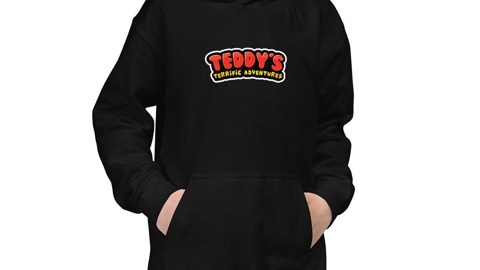 Teddy's Terrific Adventures Kids Logo Brand Hoodie