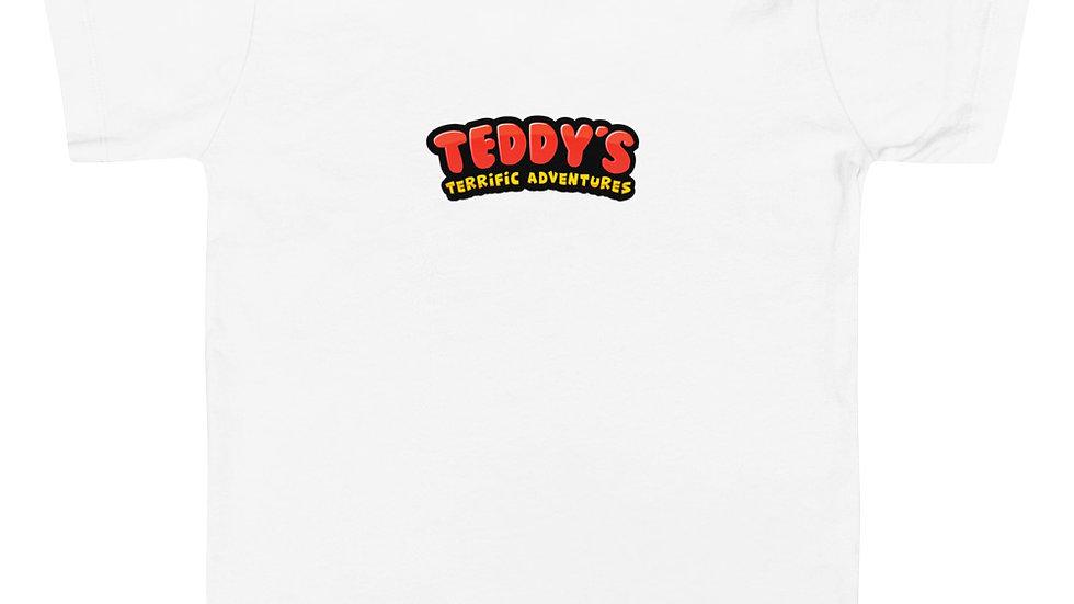 Teddy's Terrific Adventure Logo Toddler Short Sleeve Tee