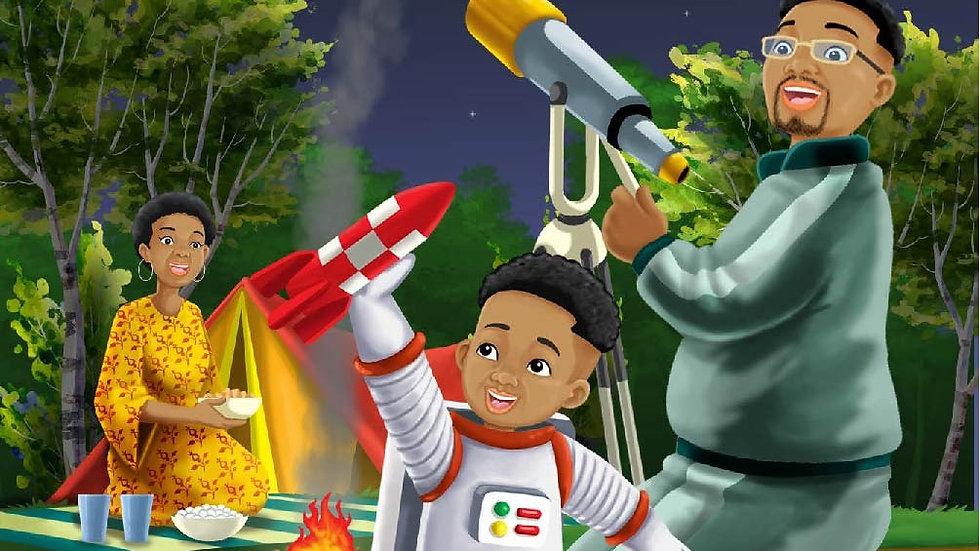 Teddy's Terrific Adventures Space Cadet