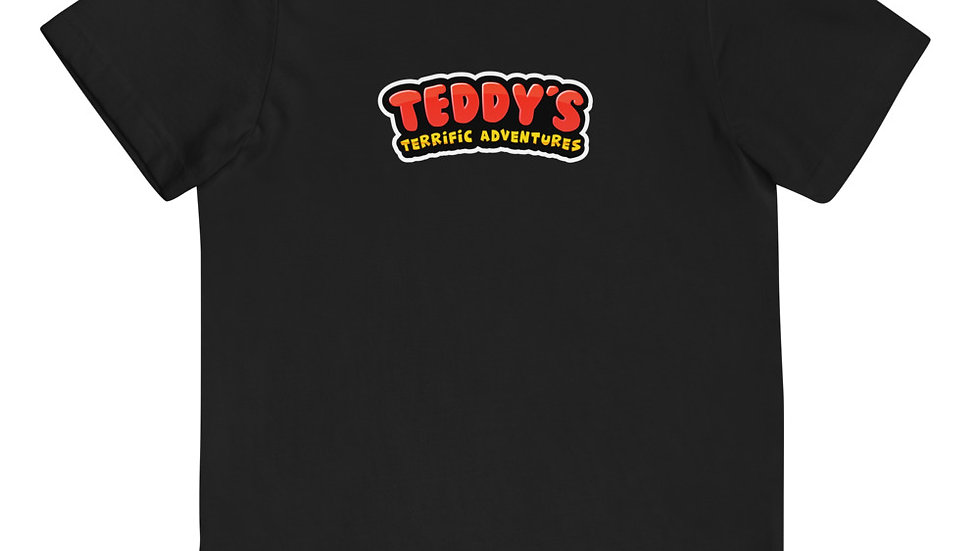 Teddy's Terrific Adventures Brand Youth jersey t-shirt