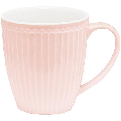 Кружка Элис бледно-розовая