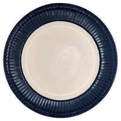Тарелка Элис столовая темно-синяя