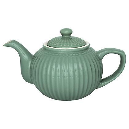 Чайник Элис пыльно-зеленый