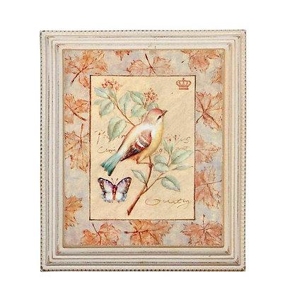 Картина с птичкой
