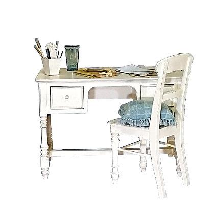 Стол письменный с двумя ящиками Гармония