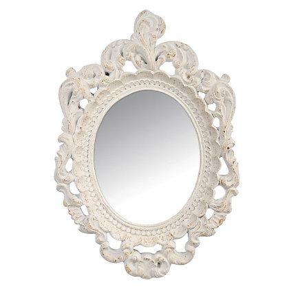 "Зеркало ""Барокко""_ белое"