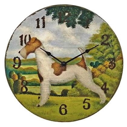 """Часы """"Прованс"""" с собакой"""